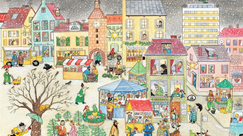 Rozkładówka Rok na ulicy Czereśniowej